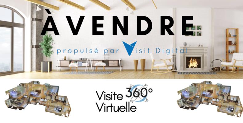 A vendre avec Visit Digital pour l'immobilier