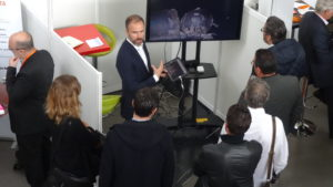 Stand visit digital innovation IT day visite 3D virtuelle digitale